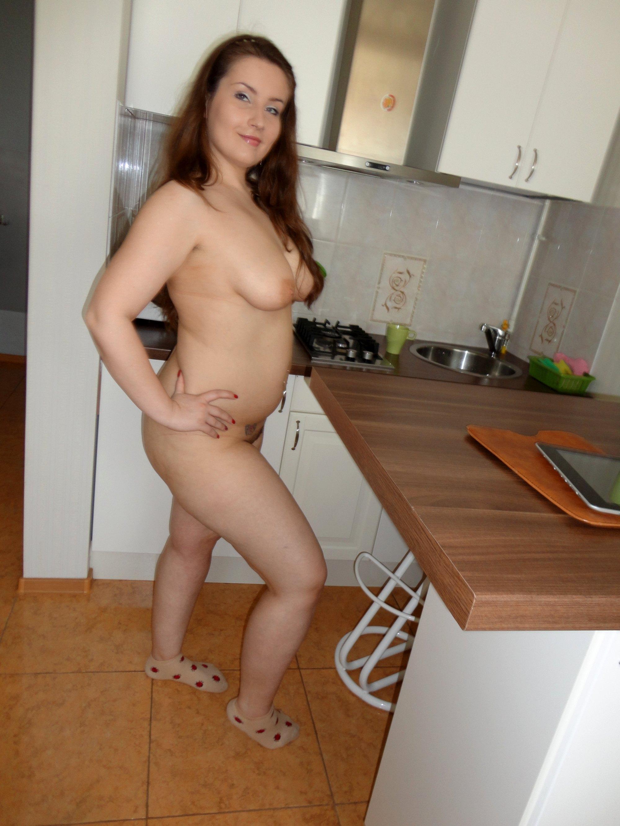 junge fette Frau